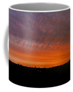 Rhymney Valley Sunrise Panorama Coffee Mug