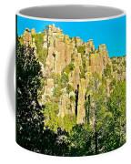 Rhyolite Columns On Ed Riggs Trail In Chiricahua National Monument-arizona Coffee Mug