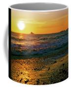 Rialto Beach Sunset Olympic National Park Coffee Mug