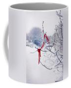 Ribbon In Tree Coffee Mug