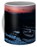 Rice Terrace After Sunset Coffee Mug