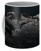 Rice Terrace In Black And White Coffee Mug