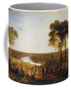 Richmond Hill On The Prince Regent's Birthday Coffee Mug