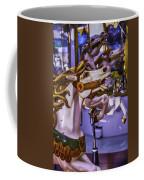 Ride The Wild Carrousel Horses Coffee Mug