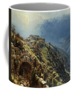 Rider On A White Horse Coffee Mug