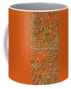 Ridges Encaustic Coffee Mug