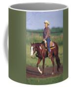 Riding Fence Coffee Mug