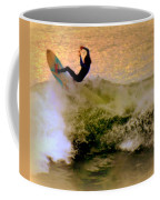 Riding High Coffee Mug by Karen Wiles