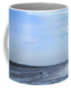 Riding Through The Tide Coffee Mug