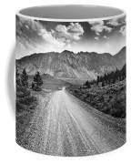 Riding To The Mountains Coffee Mug