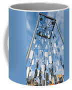 Riga Monument To Christmas Trees Coffee Mug