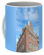 Riga Pink Building Coffee Mug