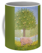 Right Hand Orchard Pig Coffee Mug