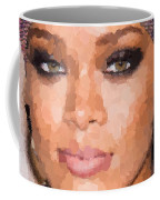 Rihanna Portrait Coffee Mug