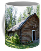 Rika's Barn In Big Delta Historical Park-ak  Coffee Mug