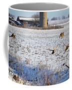 Ring Neck Hens Escape Coffee Mug