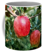 Ripe Red Apples On Tree Coffee Mug