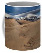 Ripples Dunes And Clouds Coffee Mug
