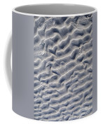 Ripples In The Sand And Surf Coffee Mug