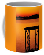 Ripples Of Copper Coffee Mug by Karen Wiles