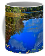 Ripples On Fly Pond - Old Forge New York Coffee Mug