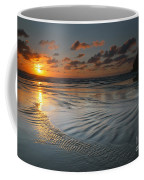 Ripples On The Beach Coffee Mug
