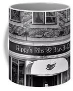 Rippy's Ribs And Bar Bq Coffee Mug by Dan Sproul