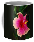 Rise And Shine - Hibiscus Face Coffee Mug by Connie Fox