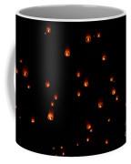 Rise Festival Lanterns 2014 Horizontal Sky Only Number One Coffee Mug