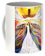 Rise Up With Wings As Eagles Coffee Mug