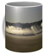 Rising Field Of Fog Coffee Mug