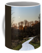 Rising Moon Fishing Coffee Mug