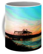 Rising Sun On The Mokelumne River Coffee Mug