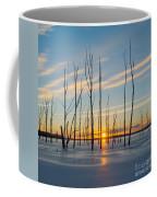 Rising Throught The Sticks Coffee Mug
