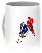 Rivalries Oilers And Flames Coffee Mug