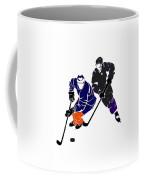Rivalries Oilers And Kings Coffee Mug