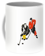 Rivalries Penguins And Flyers Coffee Mug