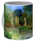 River At Riverbend Park In Jupiter Florida Coffee Mug