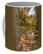 River Blyth In Autumn Vertical Coffee Mug