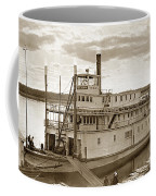 River Boat Yukon Stern Wheel Alaska 1915 Coffee Mug