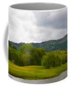 River Course At Alisal Solvang California 6 Coffee Mug