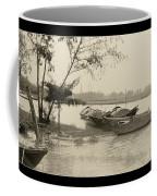 River Fishing Boats In Hoi An Coffee Mug