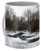 River Freeze Coffee Mug