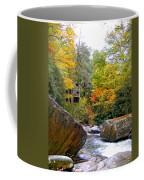 River House In The Fall Coffee Mug