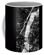 River In The Cliff Coffee Mug