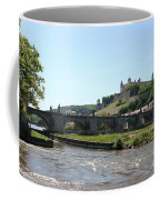 River Main With Fortress - Wuerzburg Coffee Mug