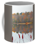 River Mirror Autumn Coffee Mug