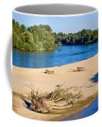 River Of Drava Green Nature Coffee Mug