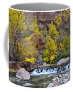 River Rapids In Zion Coffee Mug