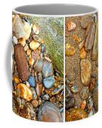 River Rocks 9 In Stereo Coffee Mug